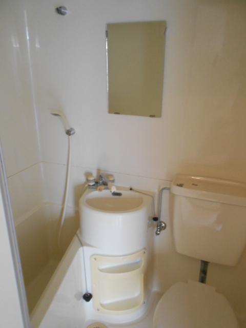 サバス太秦 201号室の洗面所