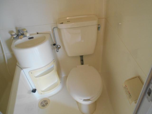 サバス太秦 201号室のトイレ