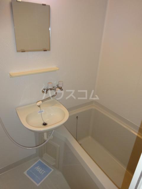 ポルコスピーノK 201号室の洗面所