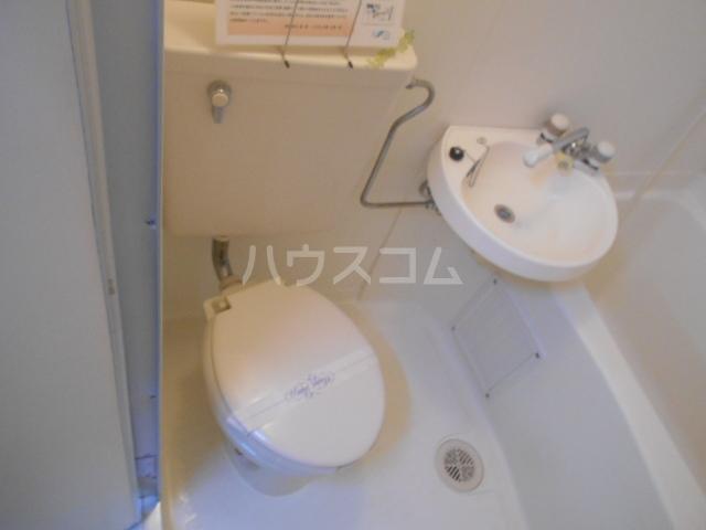 シティコーポ円町 303号室のトイレ