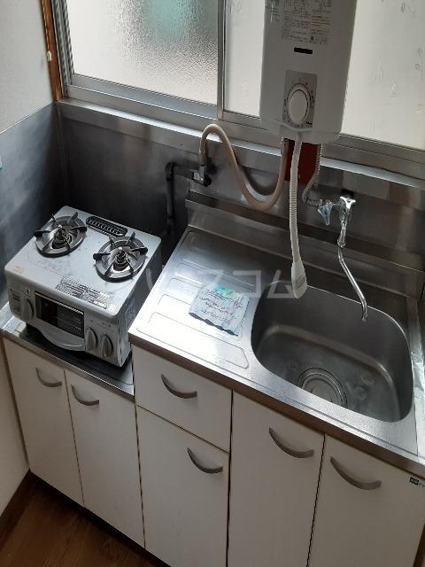 KIKUSOU 202号室のキッチン