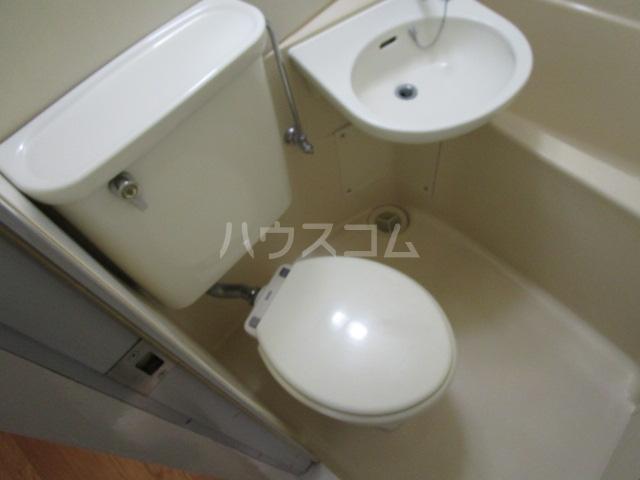 シャローム国分寺 303号室のトイレ