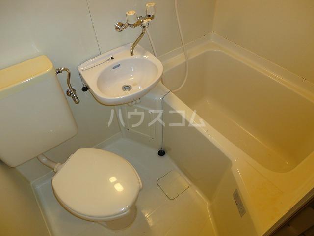 第一中原グリーンハイツ 211号室のトイレ