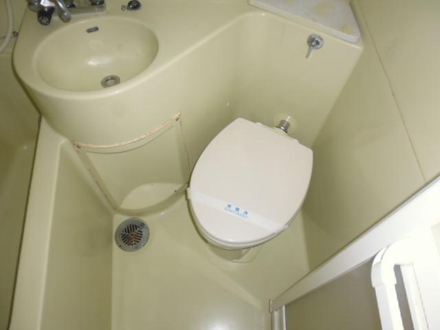 グリーンヒル山田 205号室のトイレ