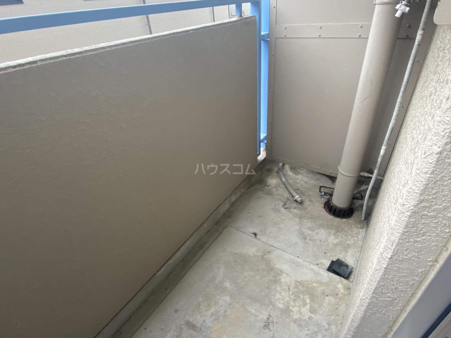 フリーピア鳴滝Ⅰ 103号室のバルコニー
