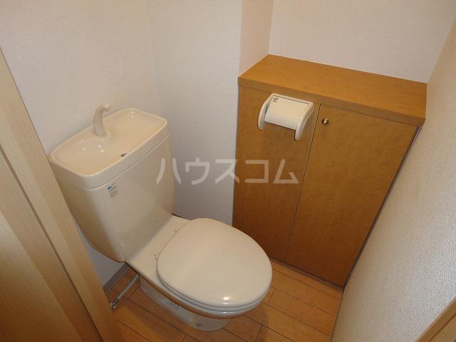 ソーシア桂 105号室のトイレ