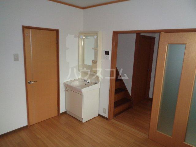 篠町篠上中沢貸家の洗面所