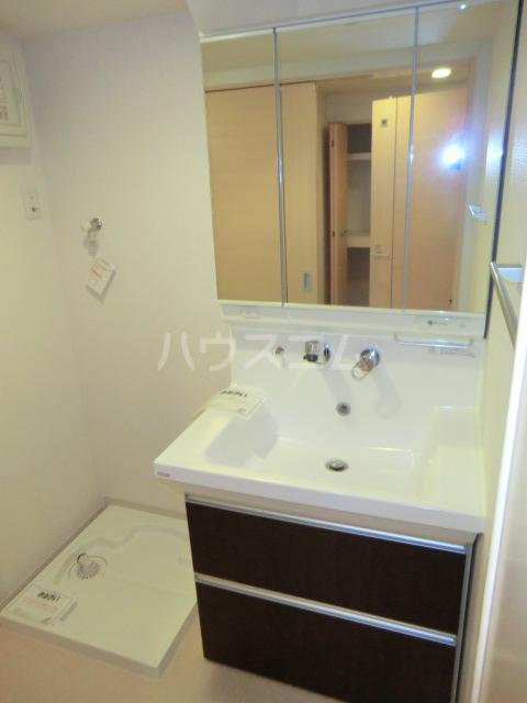 グランディオーズ桂 02030号室の洗面所