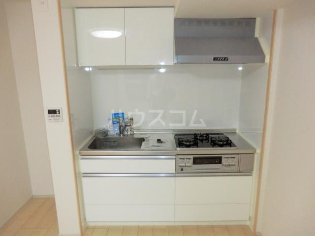 グランディオーズ桂 02030号室のキッチン