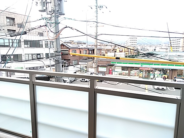 エスカーサ京都四条梅津 401号室の景色