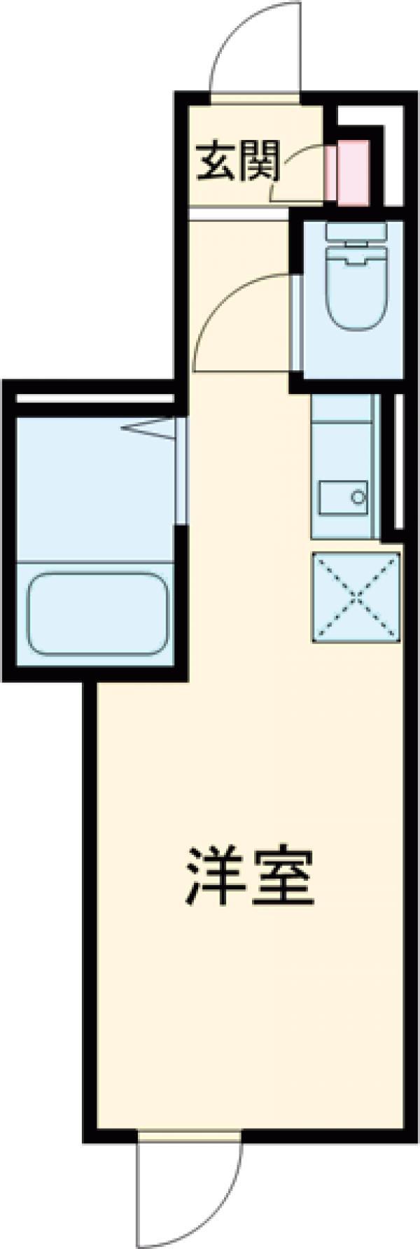 リブリ・MIMUⅢ 205号室の間取り
