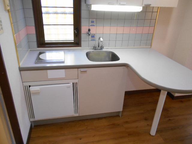 ラメールⅢ 205号室のキッチン