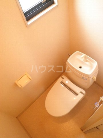 ベル・キャビンA棟 101号室のトイレ