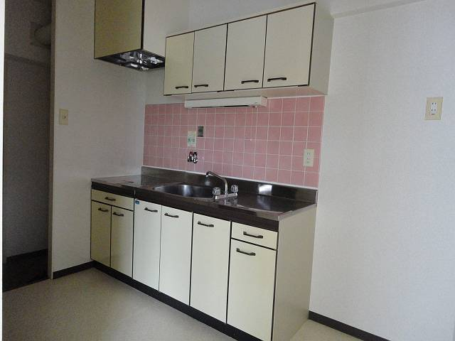 デアッシュ西京極 403号室のキッチン