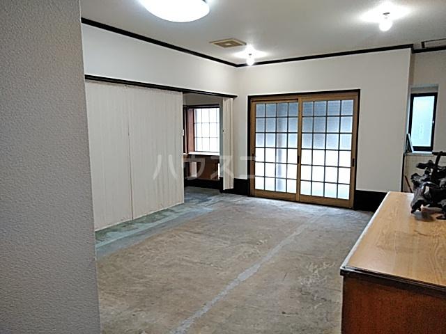 西京極店舗付き住宅のロビー