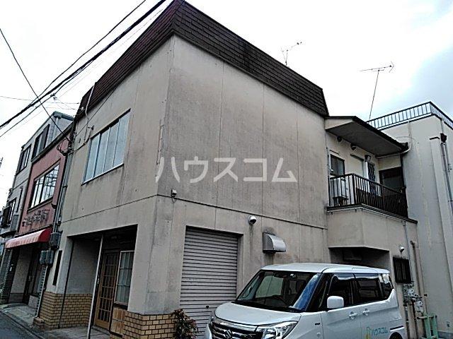 西京極店舗付き住宅の外観