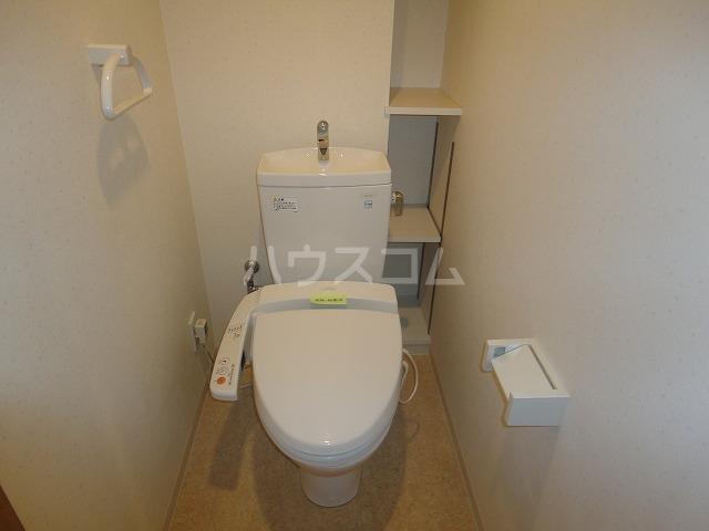 パインフィールド五条 301号室のトイレ
