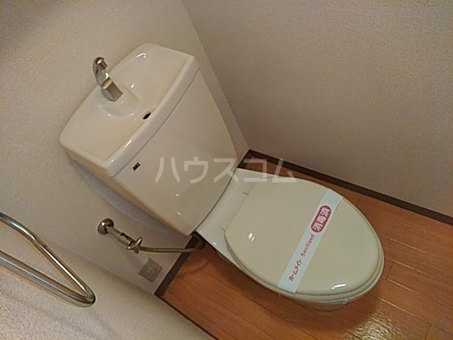 エクセ・コート 202号室のトイレ