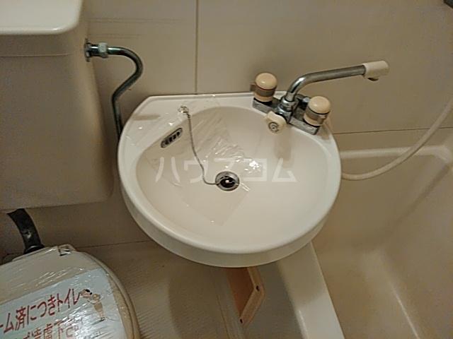あすなろ館 0001A号室の洗面所