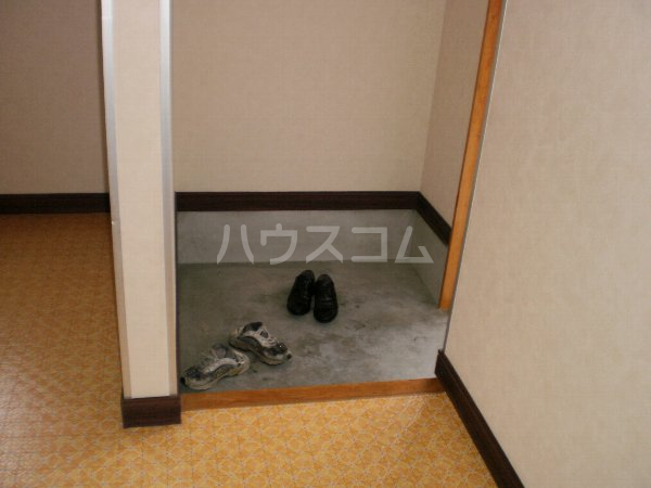 長曽ハイツⅠ 8号室の玄関