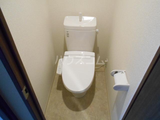 アークリード太秦 110号室のトイレ
