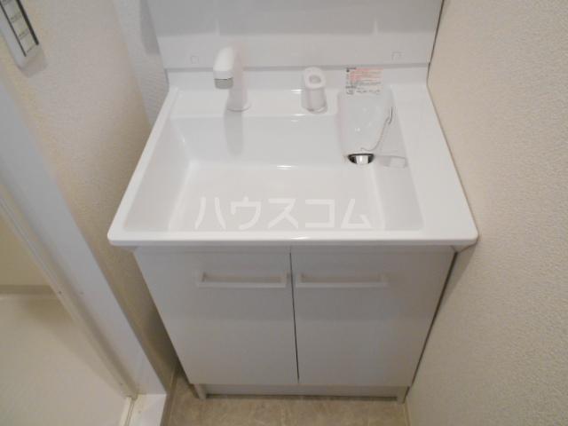 アークリード太秦 207号室の洗面所