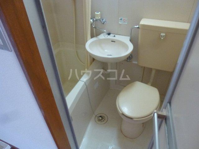 シャンテ相模台B棟 302号室のトイレ