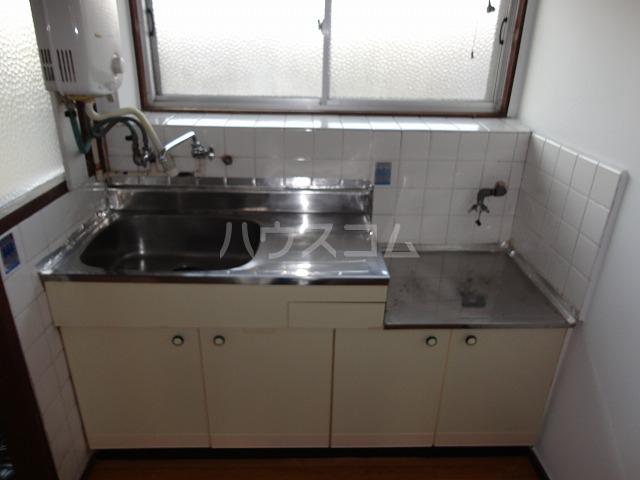 マンション千丈 202号室のキッチン