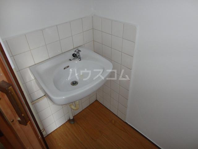 マンション千丈 202号室の洗面所