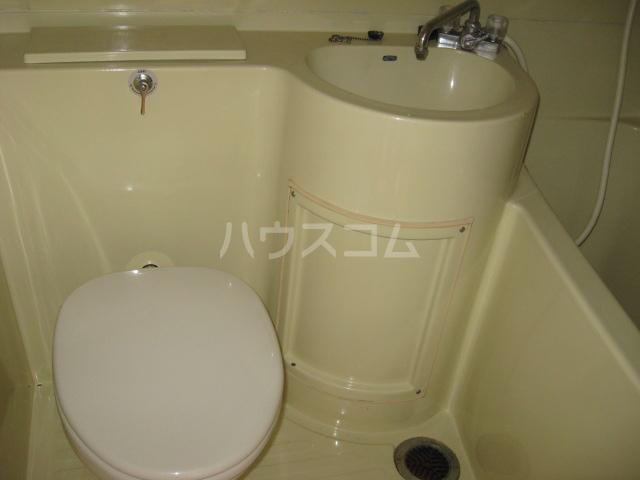 上桂グリーンハイツ 2F-N号室のトイレ