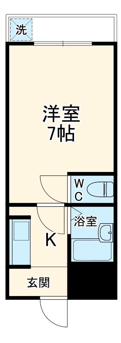 ウエストヴァレー京都・311号室の間取り