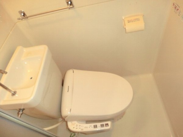 シャトー嵐望 107号室のトイレ