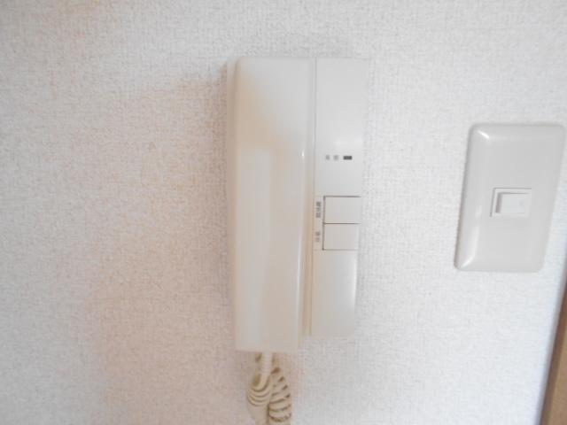グリーンコートランザン 203号室のセキュリティ