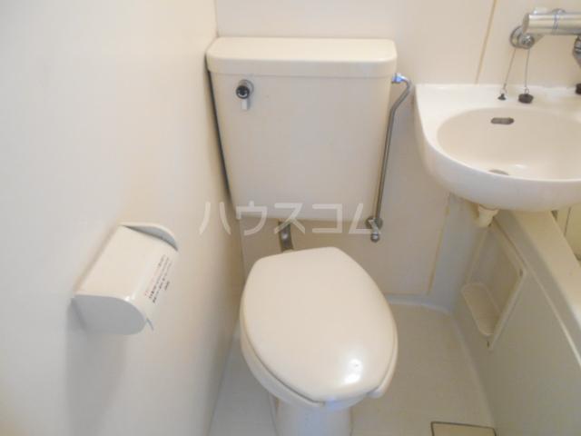 エクセレントCOCO 101号室のトイレ