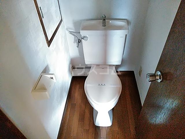 ルークミナセ 202号室のトイレ