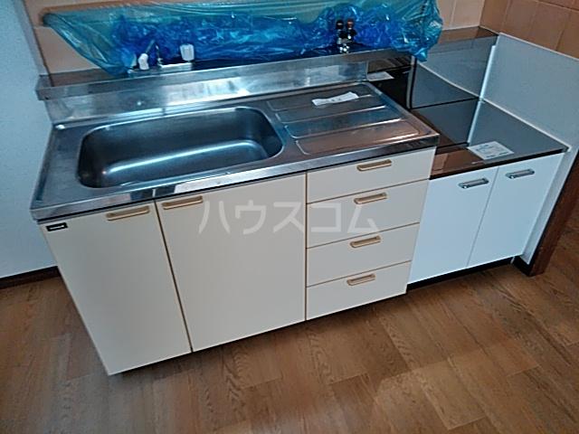 ルークミナセ 202号室のキッチン