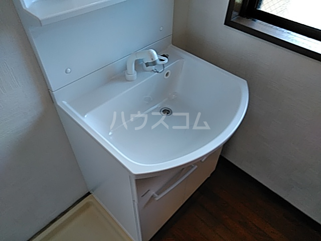 ルークミナセ 202号室の洗面所