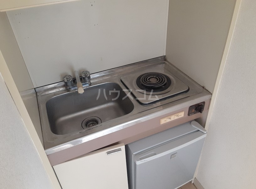 むつみ荘 201号室のキッチン