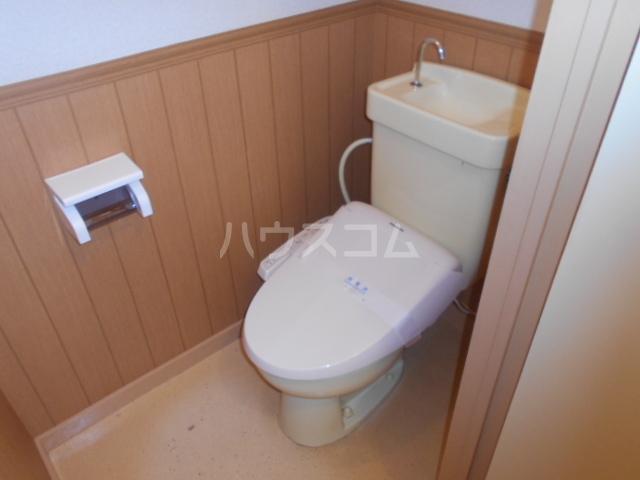 第三コーポ内藤 202号室のトイレ