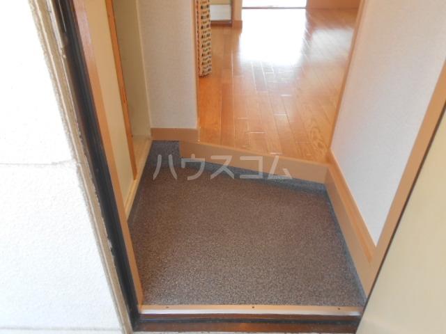 第三コーポ内藤 202号室の玄関