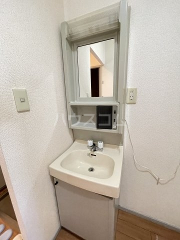 サンビレッジ桂 A104号室の洗面所