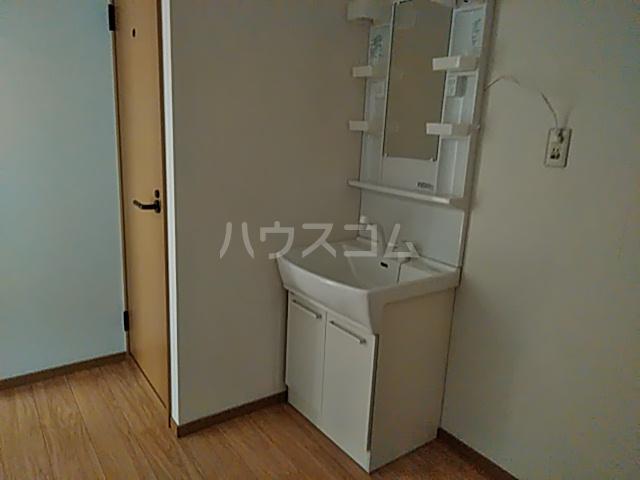 シェモア 101号室の洗面所