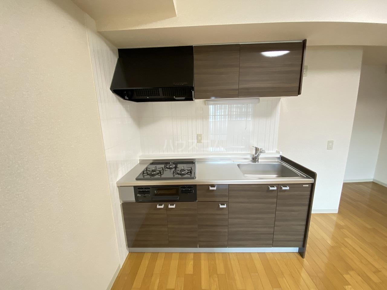 セクシオンドール 304号室のキッチン