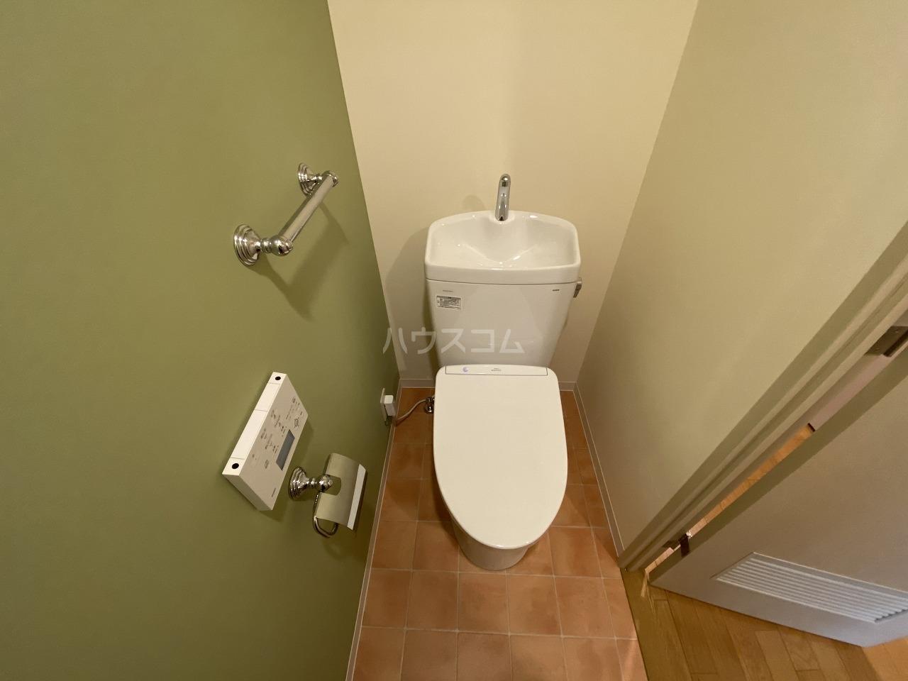 セクシオンドール 304号室の洗面所