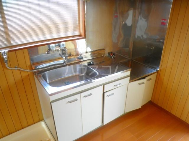 笠原アパート 201号室のキッチン
