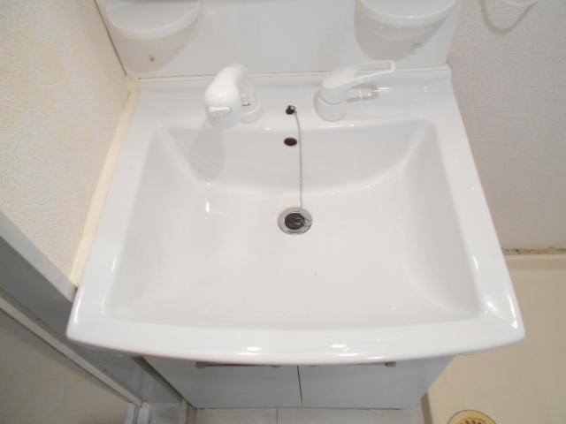 中川第6コーポ 203号室の洗面所