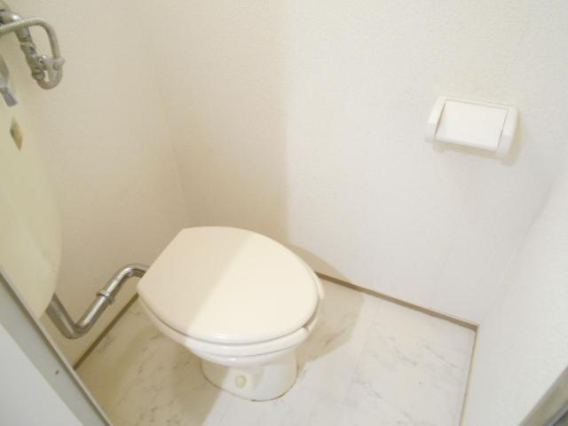 中川第6コーポ 203号室のトイレ