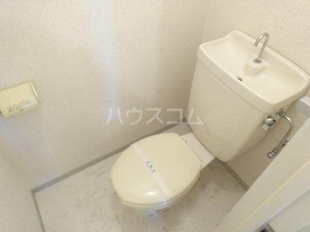アメニティ45 B105号室のトイレ