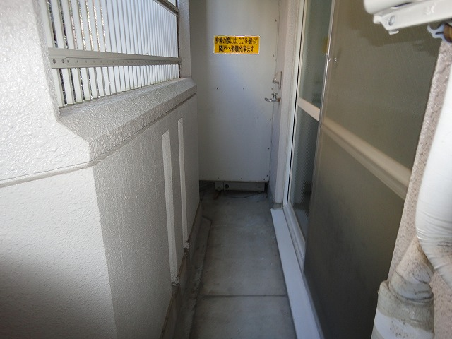 アクティハイム壱番館 201号室のバルコニー