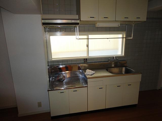 アクティハイム壱番館 201号室のキッチン